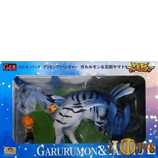 G.E.M.Series Digimon Adventure Garurumon & Ishida Yamato