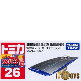 Tomica [026] Tokai University Solar Car Tokai Challenger