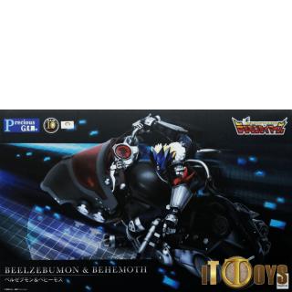 G.E.M.Series Digimon Tamers Beelzebumon & Behemoth