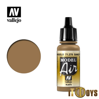 71.278 Vallejo Model Air (17ml) Sand Yellow Rlm79