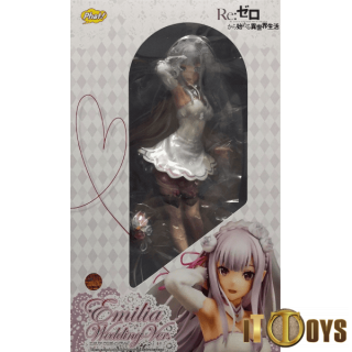 1/7 Scale Re:ZERO -Starting Life in Another World- Emilia Wedding Ver.