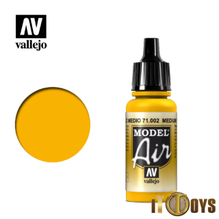 71.002 Vallejo Model Air (17ml) Medium Yellow
