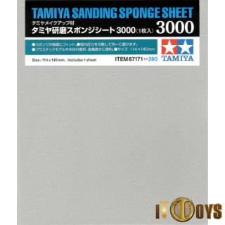 Tamiya #87171 Sanding Sponge Sheet 3000