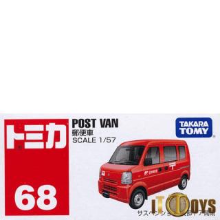 Tomica [068] Post Van