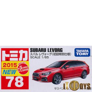 Tomica [078] Subaru Levorg (Red)