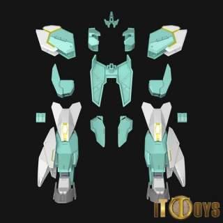 HGBD:R 1/144 Build Divers Re:RISE [031] Protagonist's Unit's New Armor ②