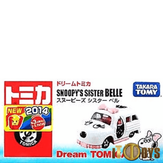 Dream Tomica Snoopy's Sister Bell