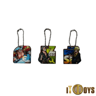 One Piece Keychains (3pcs Set)