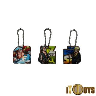 One Piece Keychains (3pcs Set)
