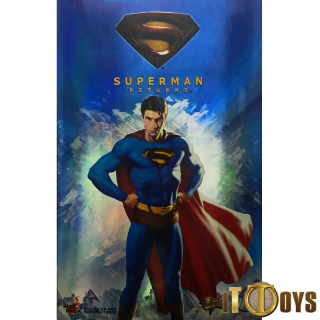 Hot Toys 1/6 Scale  MMS 14  DC Comics  Superman Returns