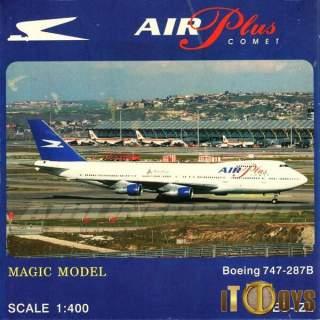 1/400 Scale  [EC-IZL]  Air Plus Comet Boeing 747-287B