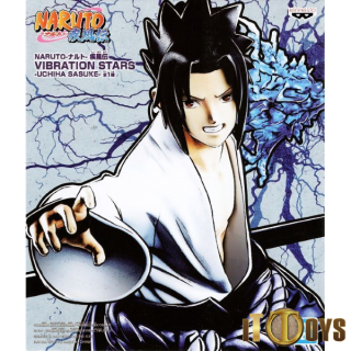 Prize Figure Vibration Stars Naruto Shippuden Uchiha Sasuke