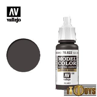 Vallejo Model Color (17ml)  [150] 70.822  Germ C.Black Brown
