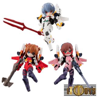 DESKTOP ARMY  Rebuild of Evangelion  Rei, Asuka & Mari