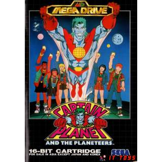 Sega Mega Drive - Captain Planet
