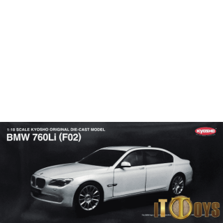 1/18 Scale Kyosho BMW 760Li (F02) (Brilliant White)