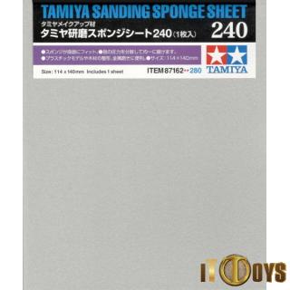 Tamiya #87162 Sanding Sponge Sheet 240