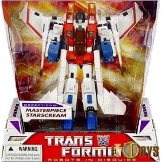Transformers  Masterpiece  Starscream