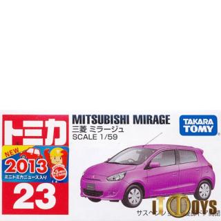 Tomica [023] Mitsubishi Mirage