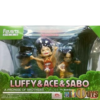 Figuarts ZERO One Piece Luffy, Ace, Sabo - Promise Of Brotherhood
