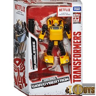 Transformers  NETFLIX War for Cybertron Trilogy Autobot Bumble Bee