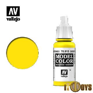 Vallejo Model Color (17ml)  [014] 70.915  Deep Yellow