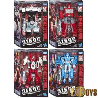 Transformers SEIGE War for Cybertron Prowl, Ironhide, Chromia, Sixgun