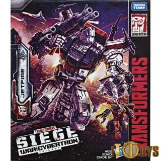Transformers SIEGE War for Cybertron Commander Jetfire