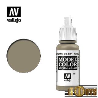 Vallejo Model Color (17ml)  [103] 70.821  Germ C.Beige Ww Ii
