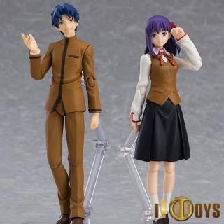 Figma [445]  Fate/Stay Night (Heaven's Feel)  Shinji Matou & Sakura Matou