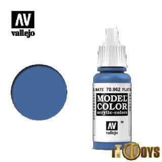 Vallejo Model Color (17ml)  [056] 70.962  Flat Blue