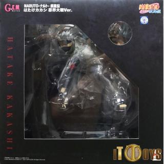 G.E.M. Series Naruto Shippuden Hatake Kakashi Ninkai Taisen Ver.
