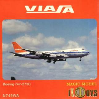 1400 Scale  [N749WA]  Viafa Venezuela Boeing 747-273C