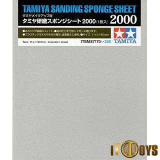 Tamiya #87170 Sanding Sponge Sheet 2000