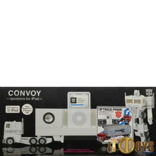 Transformers Music Label Convoy Optimus Prime -speaker for iPod-
