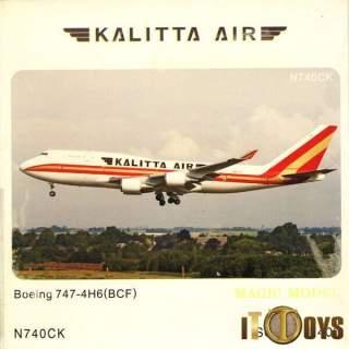 1/400 Scale  [N740CK]  Kalitta Air Boeing 747-4H6(BCF)