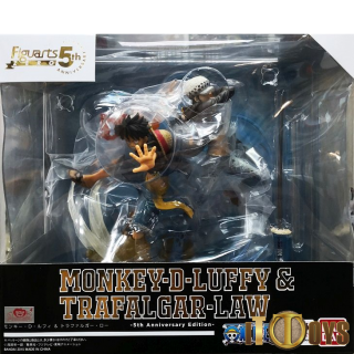 Figuarts ZERO One Piece Monkey-D-Luffy & Trafalgar Law