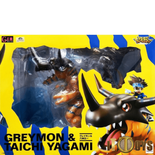 G.E.M.Series Digimon Adventure Greymon & Yagami Taichi