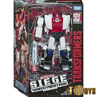 Transformers SEIGE War of Cybertron Red Alert