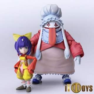 BRING ARTS Final Fantasy IX Eiko Carol & Quina