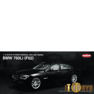 1/18 Scale Kyosho BMW 760Li (F02) (Black)
