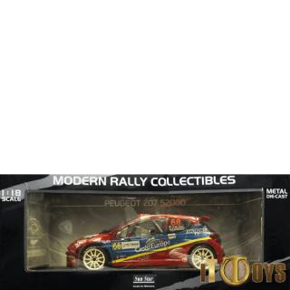 1/18 Scale Peugeot 207 S2000 (Rally de France)