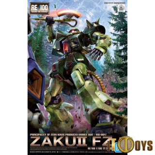 RE 1/100 Scale Reborn-One Hundred [013] Mobile Suit Gundam Zaku II FZ