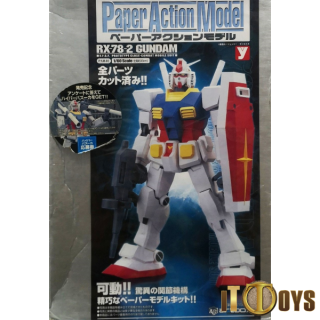Paper Action Model - RX-78-2 Gundam