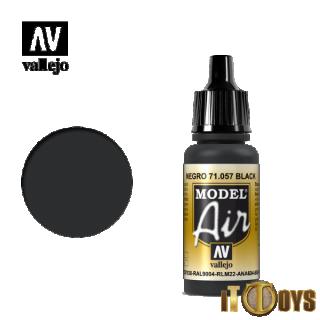 71.057 Vallejo Model Air (17ml) Black