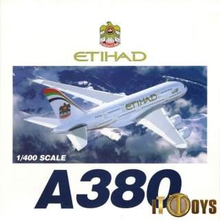 1/400 Scale  Airbus A380  Etihad