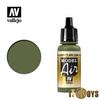71.006 Vallejo Model Air (17ml) Light Green Chrom