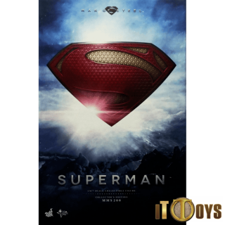 Hot Toys 1/6 Scale  MMS 200  DC Comics  Superman Collector's Edition