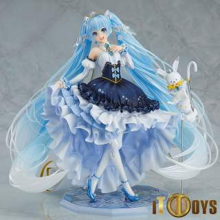 1/7 Scale Vocaloid Character Vocal Series 01 Hatsune Miku Snow Miku Snow Princess Ver.