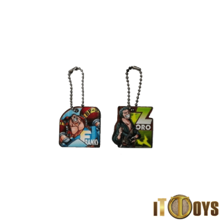 One Piece Keychains (2pcs Set)